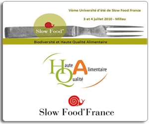 Slow Food - 5e Universite d Ete - Millau 2010